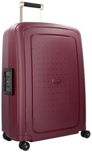 samsonite-s-cure-dlx-spinner-69-cm-burgundy-gold-deluscious